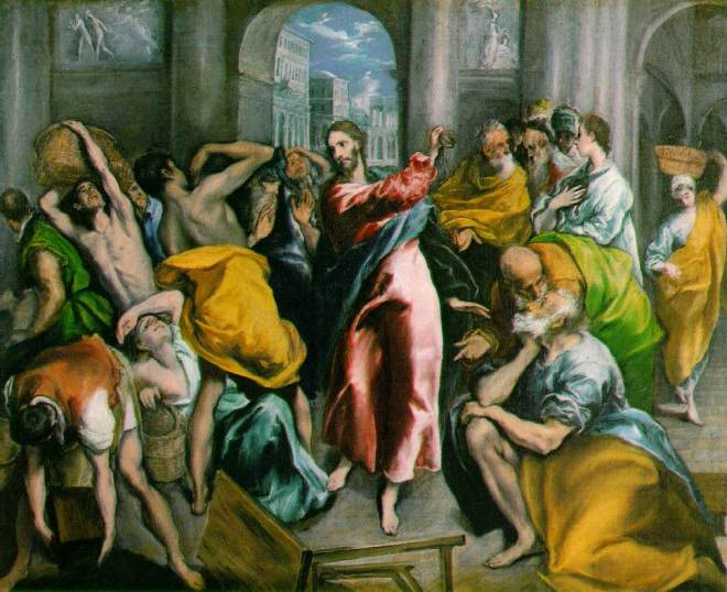 Clearly, no-one had shown El Greco how to paint properly.